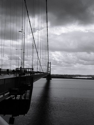 Water No People Enjoying Life Showingoff Check This Out Taking Photos Hull City Of Culture 2017 Eyeemvision Outdoors Humber Bridge Adventure Club City Out For A Walk Freshness Bridge - Man Made Structure