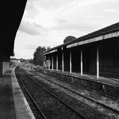 Mullingar train station // Mullingar Vscocam Ireland Westmeath trainstation