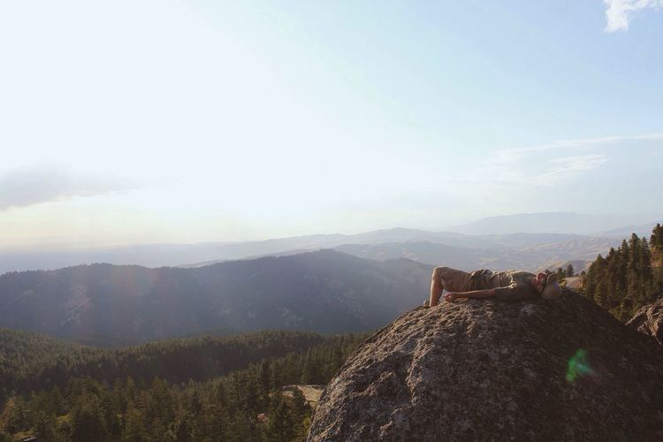 """We lean forward to the next crazy venture beneath the skies."" -Jack Kerouac Landscape Pacific Northwest  Nature"