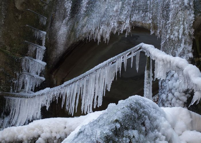 it's cold outside - everything is iced up Cold Weather Icicles It's Cold Outside Beauty In Nature Cold Cold Day Cold Days Cold Temperature Cold Winter ❄⛄ Day Frozen Frozen Nature Ice Iced Icicle Low Angle View Nature No People Outdoors Scenics Snow Stalactite  Tranquility Weather Winter