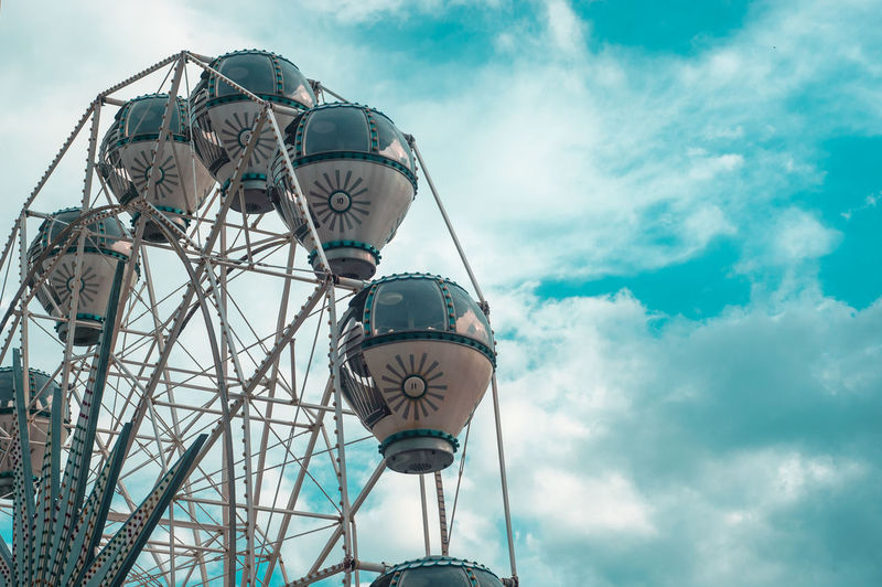 Carnivl Cruiselines Cloud - Sky Day Ferris Wheel Low Angle View Nature No People Outdoors Sky Tree