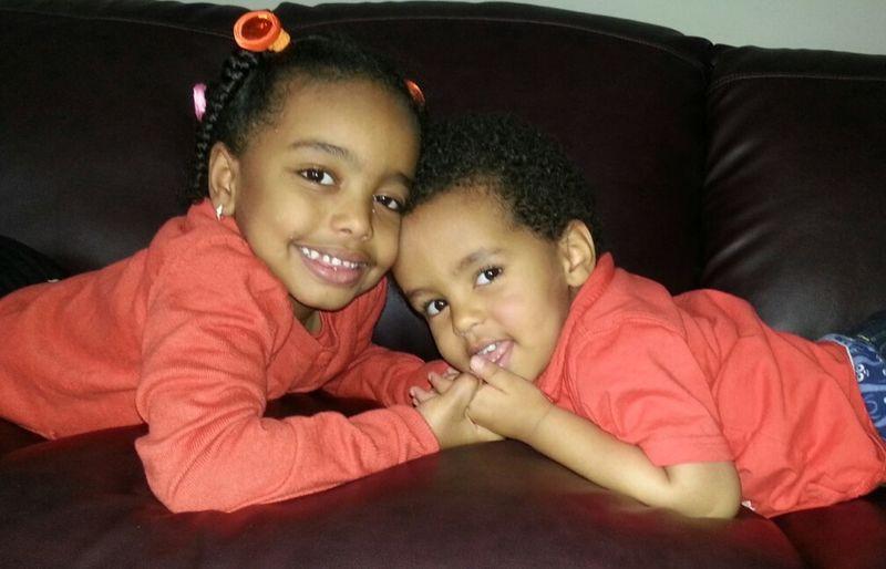 Portrait Kids siblings
