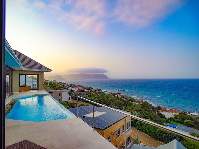 Heavenly Sky Sea Tourism Scenics Travel Destinations Seascape Simons Town Western Cape South Africa