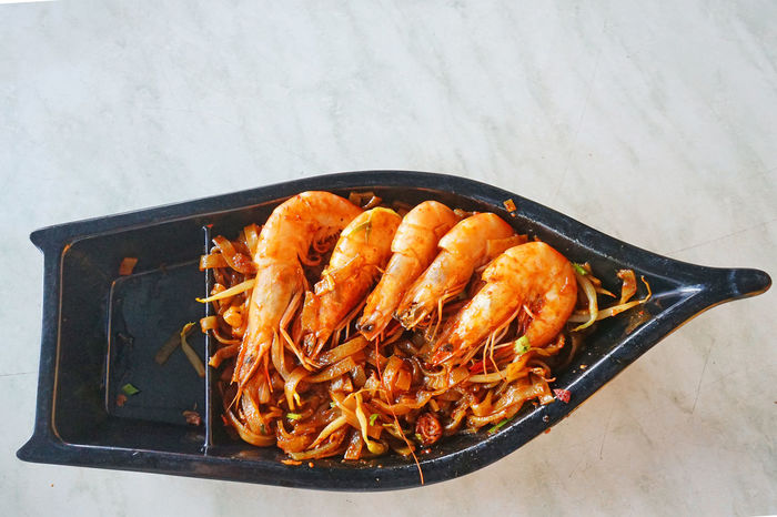 fried mee with prawn Cuisine Delicacy Delicious Food Food And Drink Freshness Fried Mee Healthy Eating Hot Mee Menu Prawn Ready-to-eat Spices Tasty