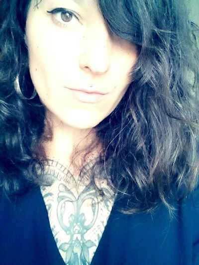 Curly. Curls Curly Girl Self Portrait Brown Eyes Brown Hair Hi