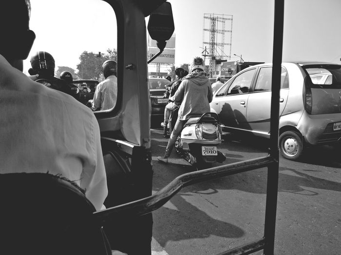 Transportation Adults Only Mode Of Transport People Outdoors City Autorickshaw Pune Streets Busy Street Traffic Stuck In Traffic Photography