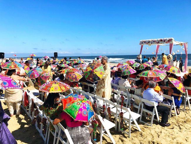 Beach wedding Indian Wedding Indian Weddings  Indian Weddings!  Beach Wedding Beach Sea