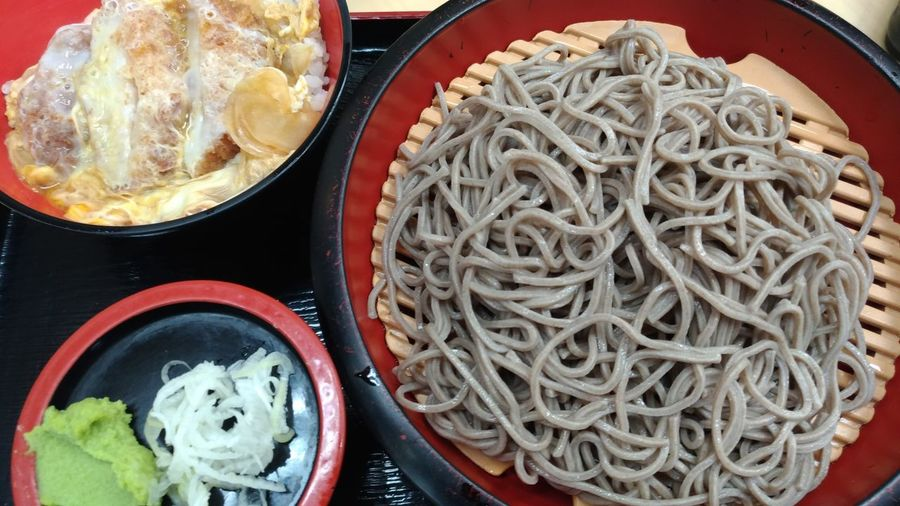 Food And Drink Food Freshness Ready-to-eat Still Life Plate Indoors  Healthy Eating No People Serving Size Indulgence Homemade Meal Temptation Cooked Close-up Day Soba Soba Noodles Japanese Food Japanese Style