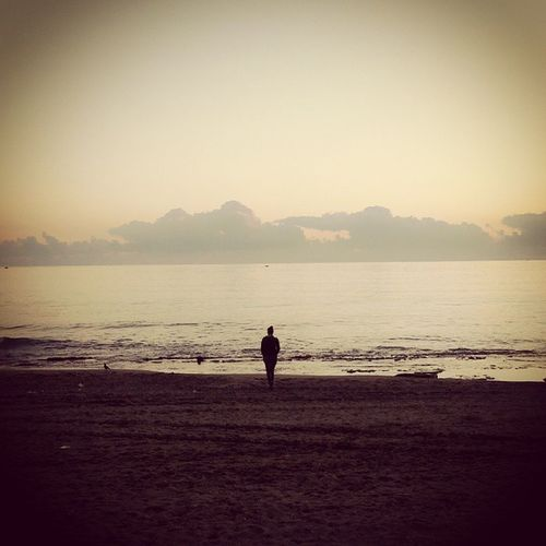 """""""open your mind,believe it's going to come to"""" Open Your Mind Believe Deniz Sea Beach Sahilde"""