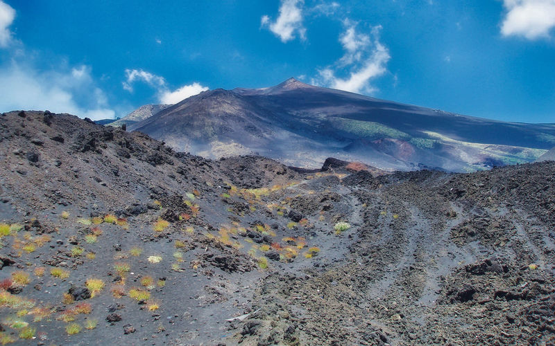 Etna volcano area.... Extreme Terrain Geology Landscape Lava Mountain Mountain Peak Mountain Range Non-urban Scene Outdoors Physical Geography Rough Scenics Tranquil Scene Volcano Volcanoes