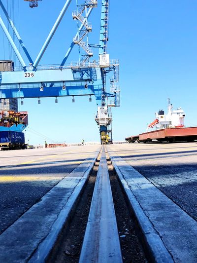 Ship Pier Port