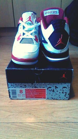 My new shoes Nike Air Jordan blackmoon 4s LOVE IT ?