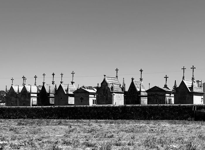 Cemetery Cemitery Building Exterior Built Structure Architecture Sky Building Clear Sky No People Day Rural Scene