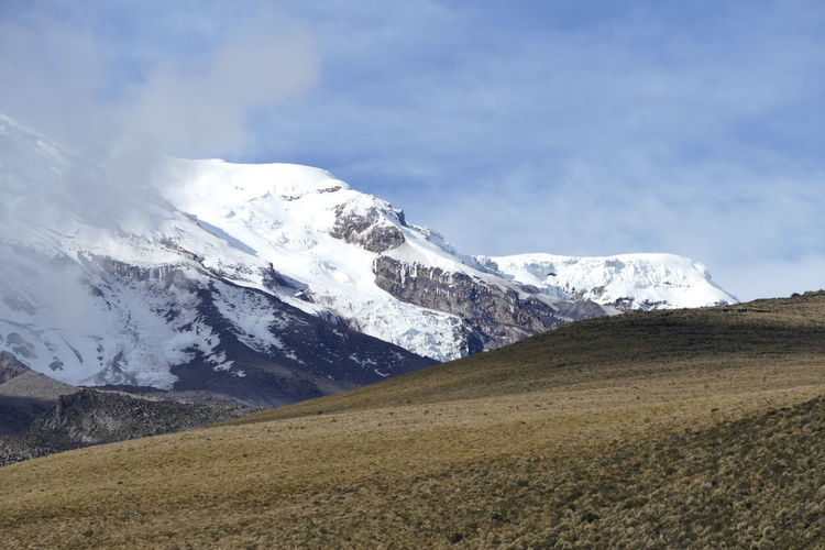 Valcano Chimborazo - Ecuador Nature Beauty In Nature Ecuador Landscape Mountain Mountain Range Scenics Snow Snowcapped Mountain South America Sun Sunlight And Shadow Vulcano Wilderness