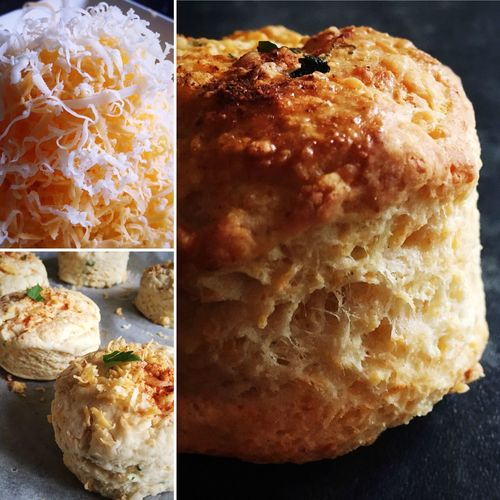 More cheese scones... Food Photography Food Blogger Foodblogday Homemade Cheese Scones In The Making Savoury Scones