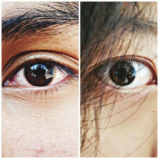 miradas #Bolivia❤💛💚 #Eyes #photography #love #EyeEmNewHere #Nature  #Miradas Human Eye Looking At Camera Portrait Close-up Human Body Part Eyelash One Person