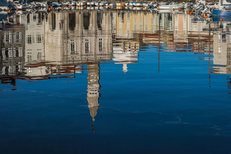 Adriatic Sea Architecture Day Eye4photography  Nature Nautical Vessel No People Outdoors Piran Reflecting Reflection Sea Slovenia Upside Down Water Water Reflections Waterfront Boats