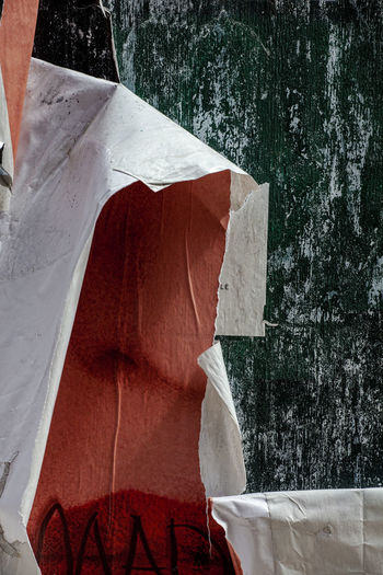 torn posters Torn Posters Abstraction - Torn Posters Still Life Close-up Torn Poster Still Life