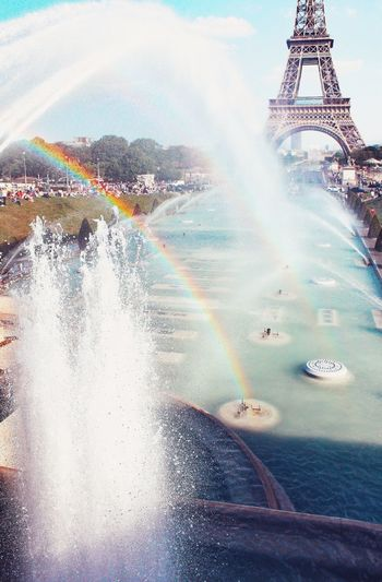 Rainbows Drops Fountain Fountains Fountain Show Fountain_collection Spray Splashing Splashing Droplet Splatter Rainbow🌈 Rainbow Colors Rainbows Nature Nature_collection Nature Photography EyeEm Best Shots EyeEmNewHere Natural Phenomenon Joy Cheerful Cheer Colors Colorful Peace Water Spraying Speed Sky Close-up Drop