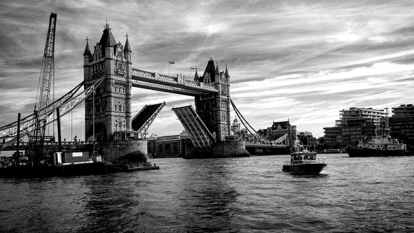 London Blackandwhitephotography Blackandwhite Tower Bridge  GB Greatbritain Thames Riverthames Pmg_lon
