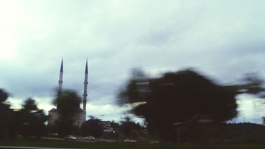 Mosque Architecture Mosque Othman Empire Othman Mosque Fast Stable In Fast Fast Photography Fast Car Speed Photography Storm Cloud Cloud - Sky Built Structure Architecture Outdoors The Week On EyeEm By _photoinn😉