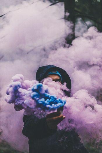 Smoke Pink Blue Forestier Gangsta