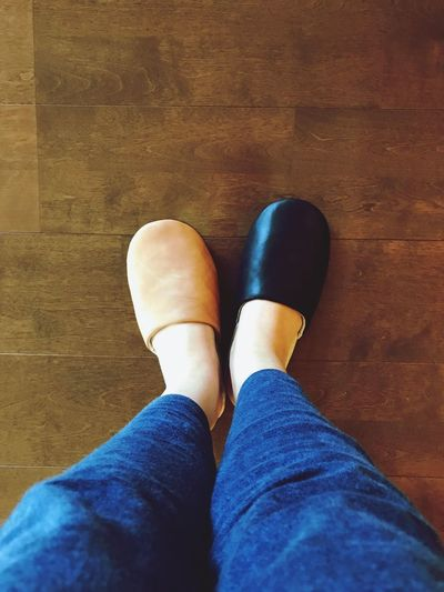 EyeEmNewHere Slippers New Life Favorite Slippers Leather Shoes In The Room Art Is Everywhere