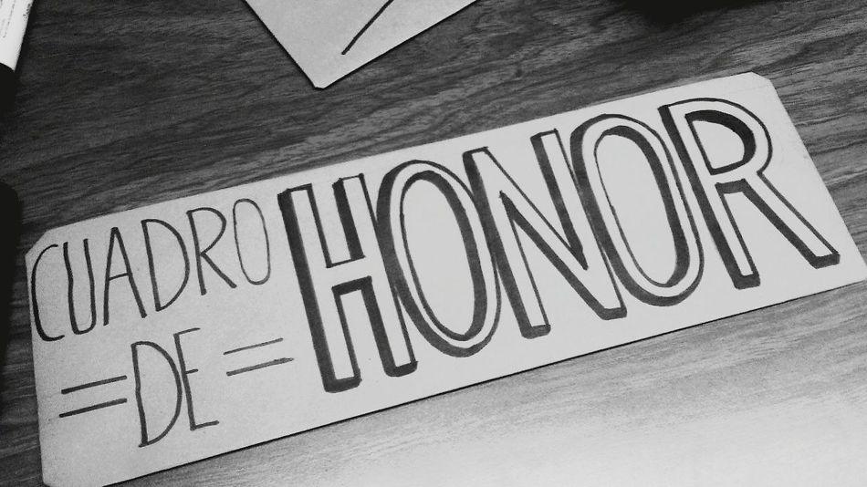 Cuadro de honor para mis alumnos ♥