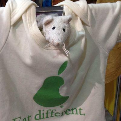Strudel the vegan mouse #chiaralascura #criticalfashion Chiaralascura Criticalfashion