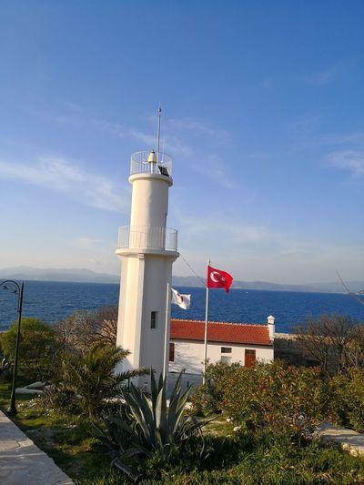no filter EyeEm Selects Water Sea Lighthouse Beach Lifeguard  Protection Lifeguard Hut Safety Sky Horizon Over Water