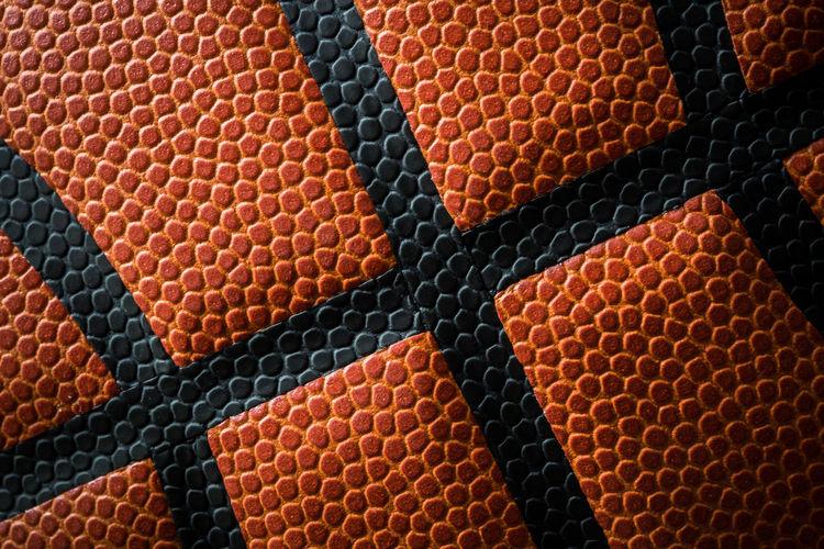 Full frame shot of basketball