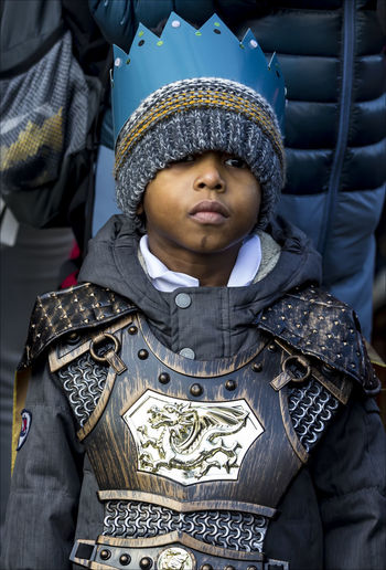 Three Kings Day NYC 2017 Young Boy Portrait Religious Pride Three Kings Day NYC 2017 Wthnic Pr Young Boy
