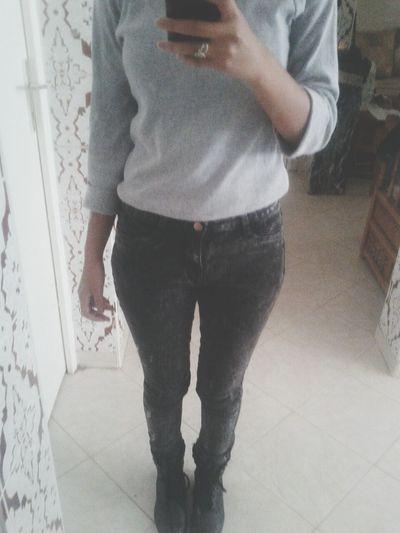 Jeans Rock Boots