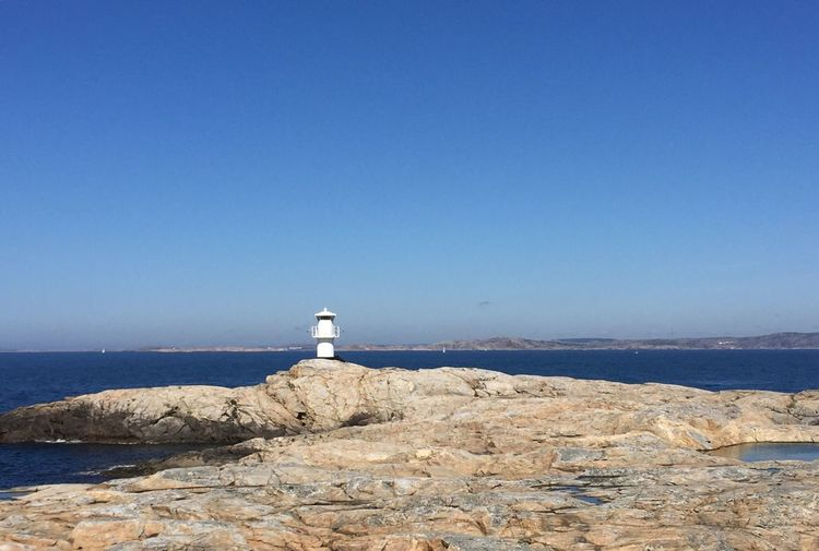 Lighthouse Blue Day No People Sweden Swedish Nature EyeEm Gallery Scenics Outdoors Nature_collection Nature Photography Nature_perfection Marstrand Westcoastofsweden Live For The Story Lost In The Landscape