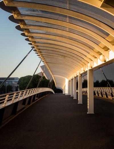 Empty Bridge Against Sky