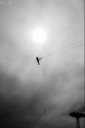 Black & White Photography Coney Island USA