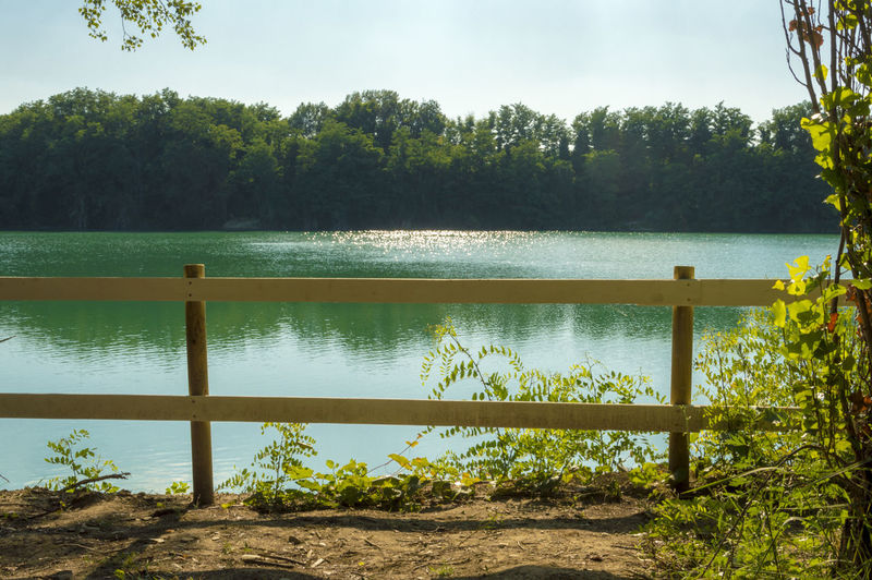 Forli, Italy, a small but beautiful lake really close to the city Beauty In Nature Day Growth Idyllic Lake Land Nature No People Non-urban Scene Outdoors Plant Scenics - Nature Sky Sunlight Tranquil Scene Tranquility Tree Water