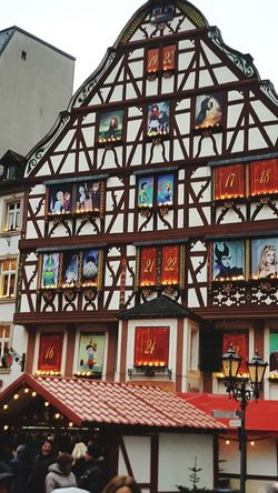 Weihnachtsmarkt Architecture Built Structure Building Exterior Day Window Low Angle View Travel Destinations