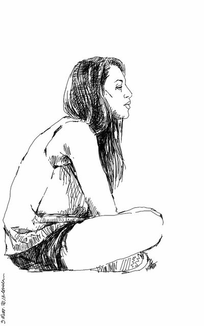 Art Drawing Girl Kaay