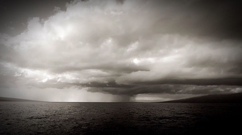 Blackandwhite My Cloud Obsession☁️ Clouds And Sky Stormy Sky Eyem Nature Lover Weather Storm Cloud Storm Sea Nature Sky Thunderstorm No People Cloud - Sky Beauty In Nature Outdoors Water Horizon Over Water Power In Nature Landscape