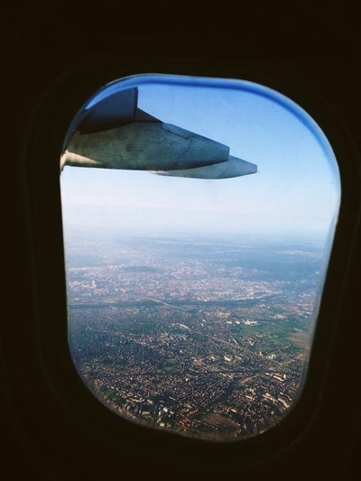 Flying From An Airplane Window Paris Paris From Above France From Where I Sit City City View