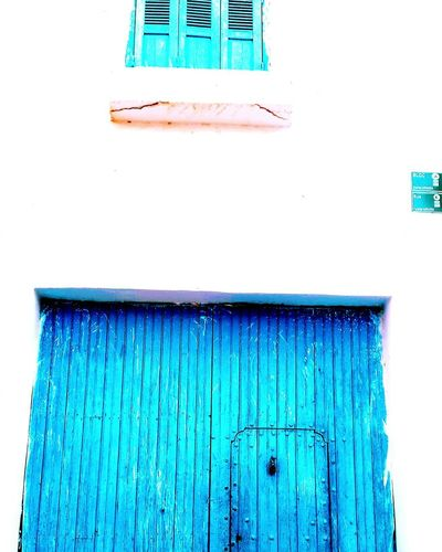 Family Blue Building Exterior Outdoors Morocco Arch Beautiful Day Door
