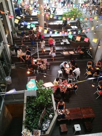 Large Group Of People High Angle View Crowd Eating Eating Out Party Food dinner party Celebration Celebration Party first eyeem photo