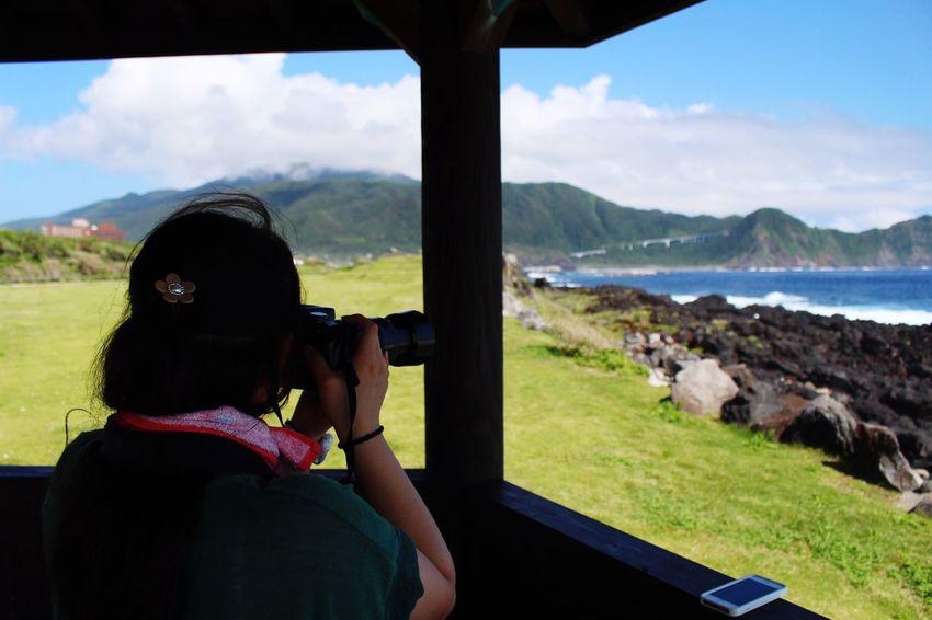 Hachijo-island 八丈島 Sky Sea Mountains Blue Grass OpenEdit Green She