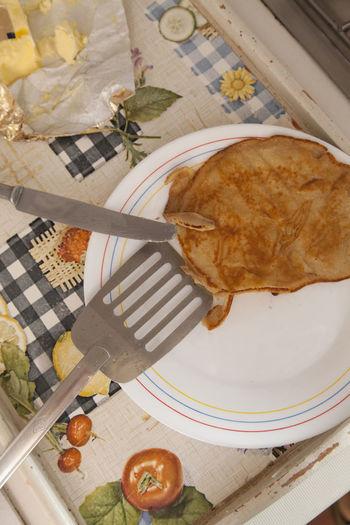 Breakfast Creativity Dessert Food And Drink Homemade Homemade Food Indoors  Indulgence Meal Pancake Pancakes Ready-to-eat Food Stories