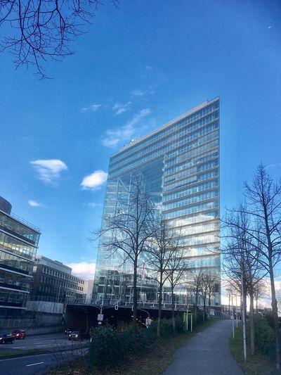 Duesseldorf. Skyscraper. 33