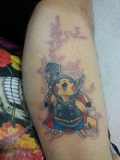 Pokémon Tattoos LOL