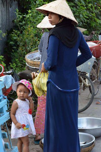 Mekong River Vietnam Childhood Clothing Local People Real People South Vietnam Women