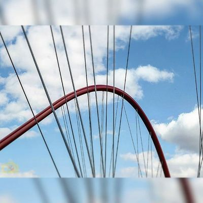Himmel Wolken Blauerhimmel Brücke Nordstern Nordsternpark Gelsenkirchen Sky Bluesky NRW Picoftheday Bestoftheday Winter2015