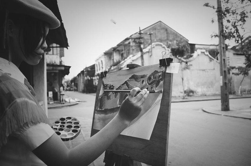 Children Streetphoto_bw Vietnamese Hoian